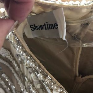 Showtime Collection Dresses - Sexy sequined gown